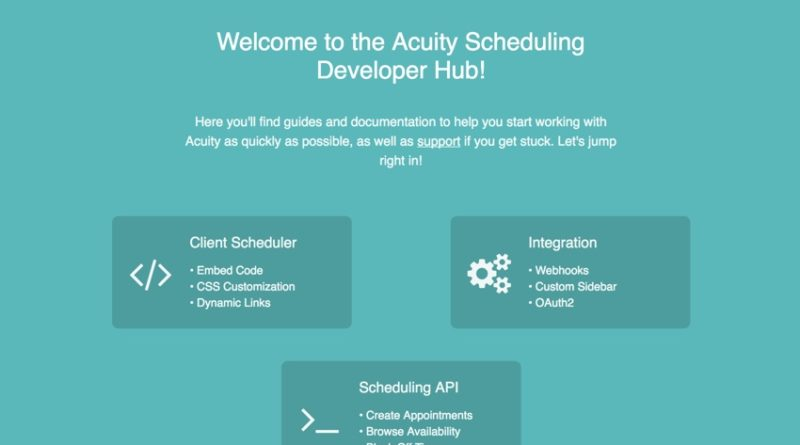 Acuity Scheduling: Embedding and Developer Integration - All Pro Web